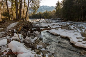 Spring break-up on the Ausable River