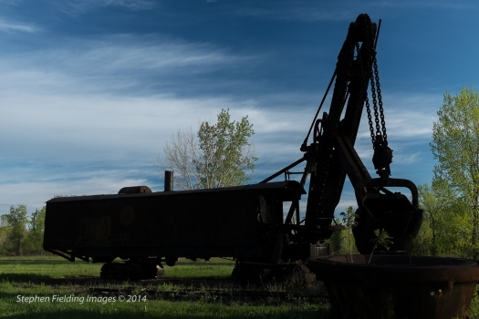 Retired Steam Shovel