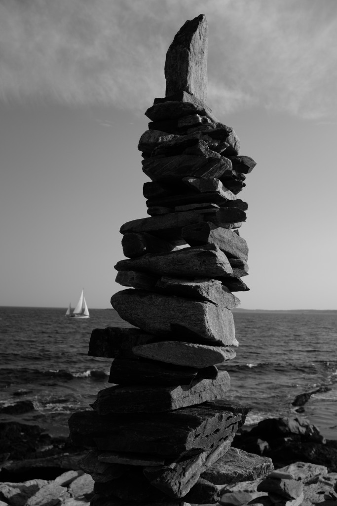 The great cairn