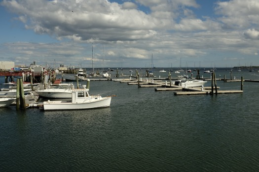 Rockland Harbor, late September