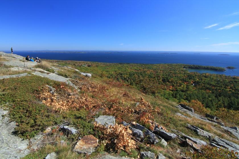 Mt. Battie overlooking Acadia and Downeast
