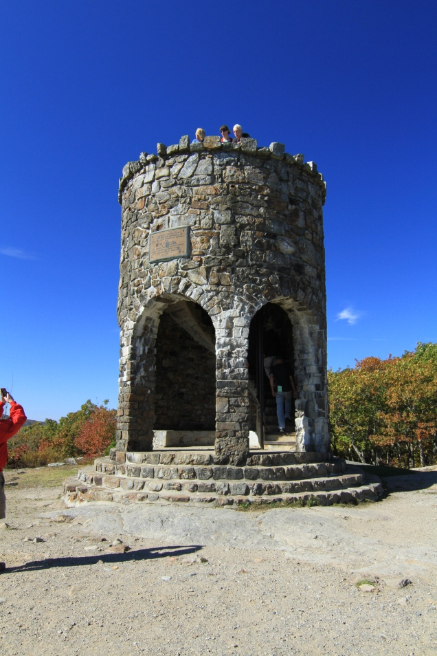 Look-out tower atop Mt. Battie