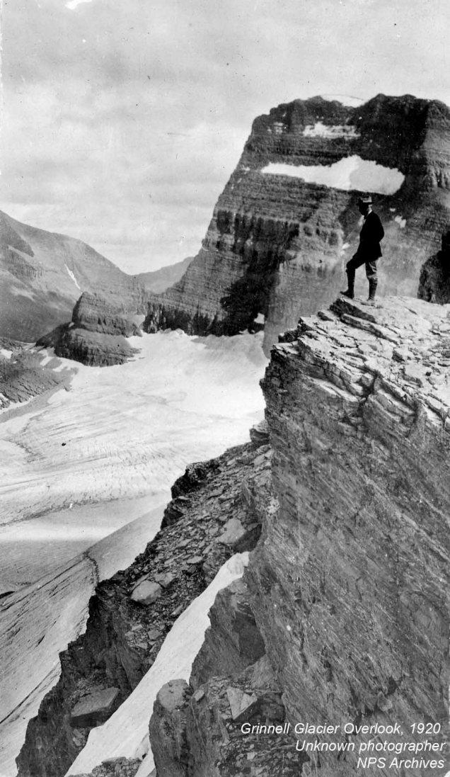 Grinnell Glacier Overlook: 1920
