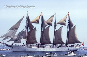 Boston, Tall Ships The Juan Sebastian Elcano, 1980